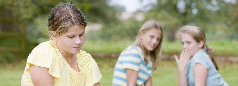 Girl left out - bullied