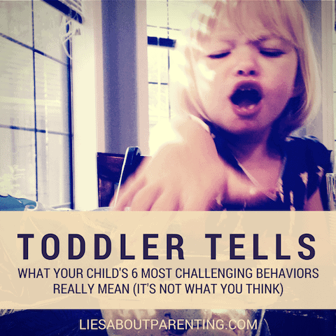 Reasons Toddlers Act Out | LiesAboutParenting.com
