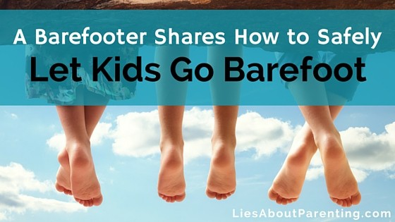 barefoot kids foot development