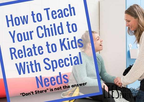 Teach Child Relate Kids Special Needs