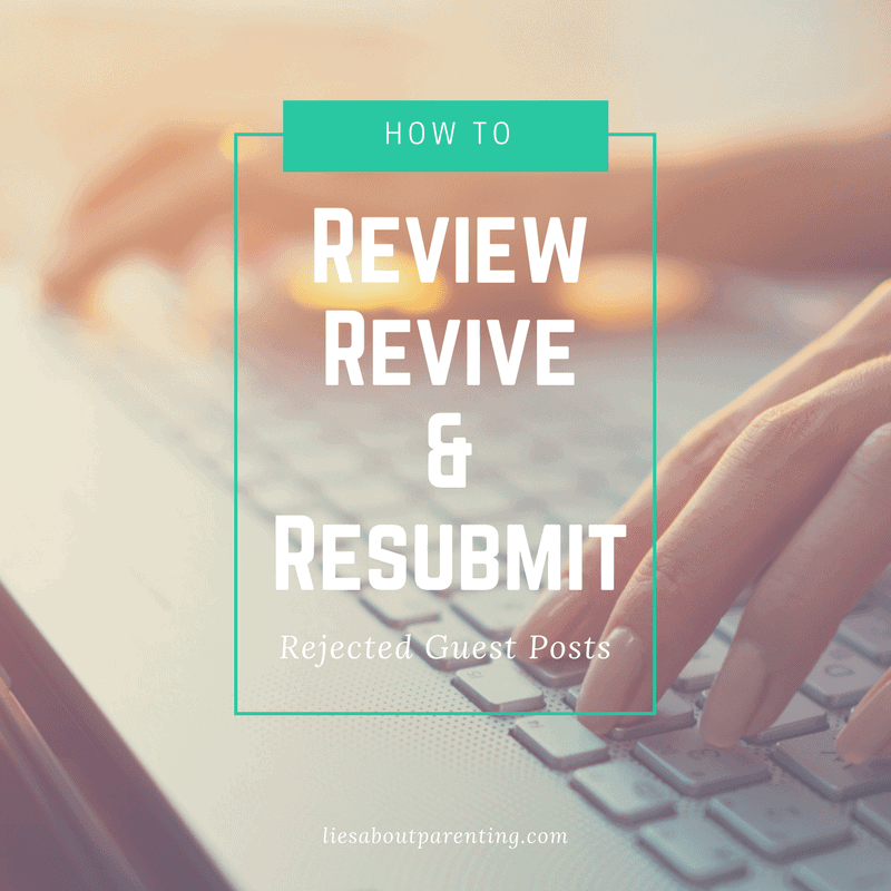 how to rework rejected guest posts