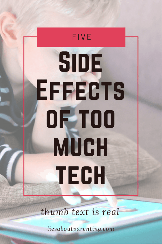 5 Not So Hidden Side Effects of too much technology