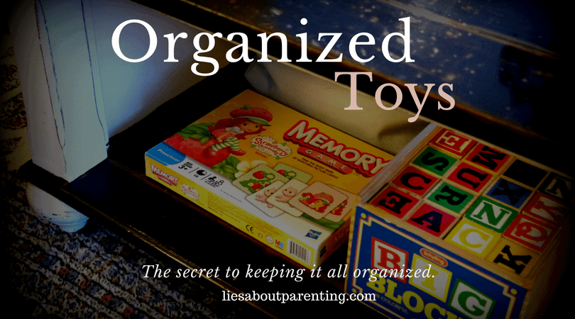 How to organize toys for good