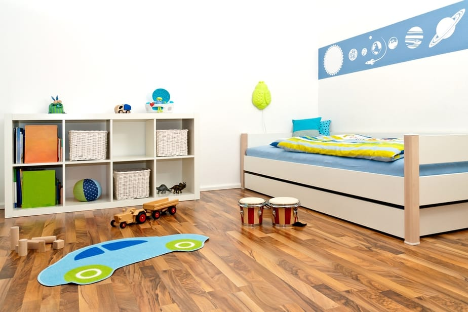 Childrens Playroom simplicity parenting toy list
